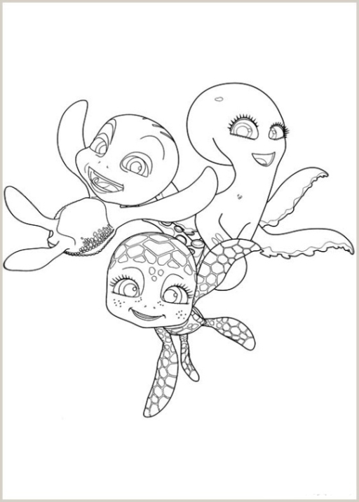 Annabelle Coloring Pages